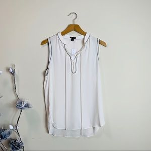 Ann Taylor sleeveless strappy top